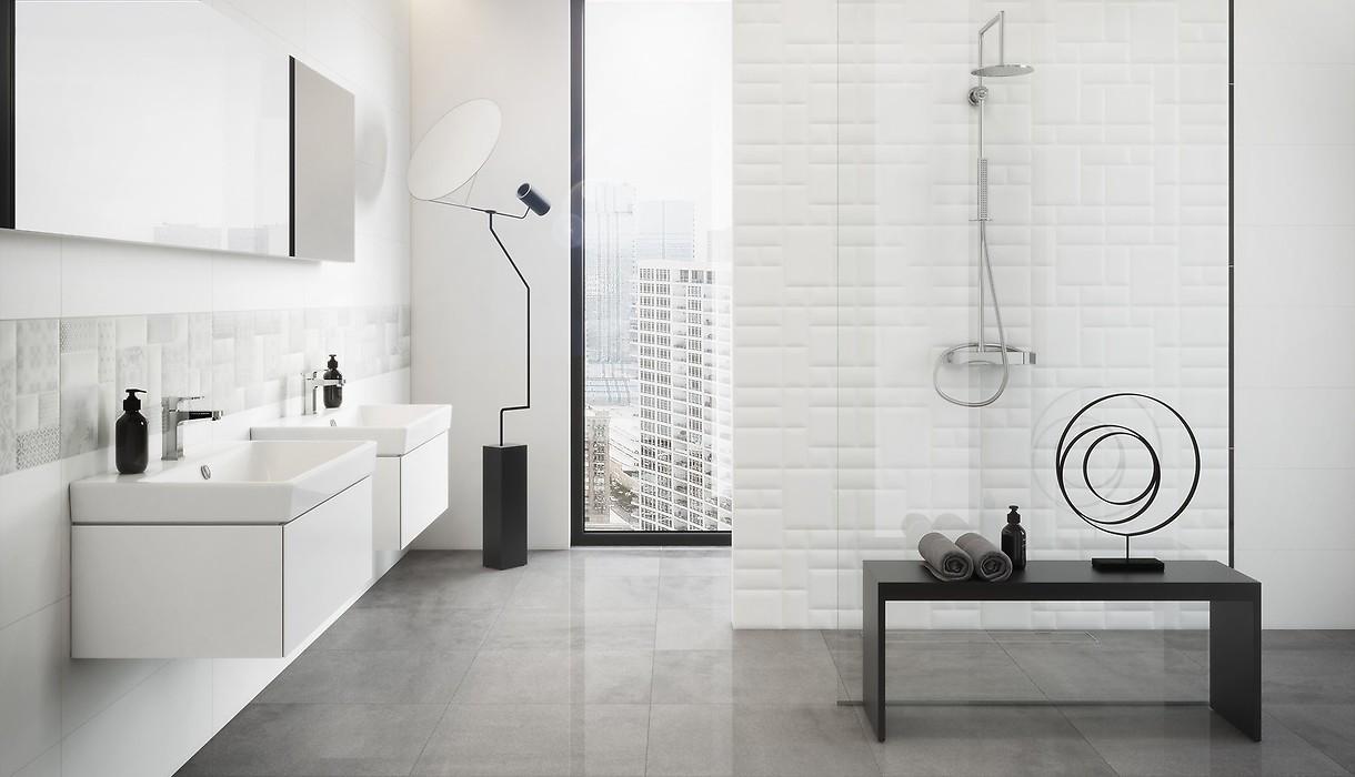 How to arrange white bathroom? / Trends / Opoczno Ceramic Tiles