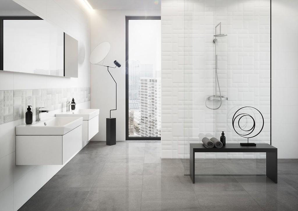 How To Arrange White Bathroom Trends Opoczno Ceramic