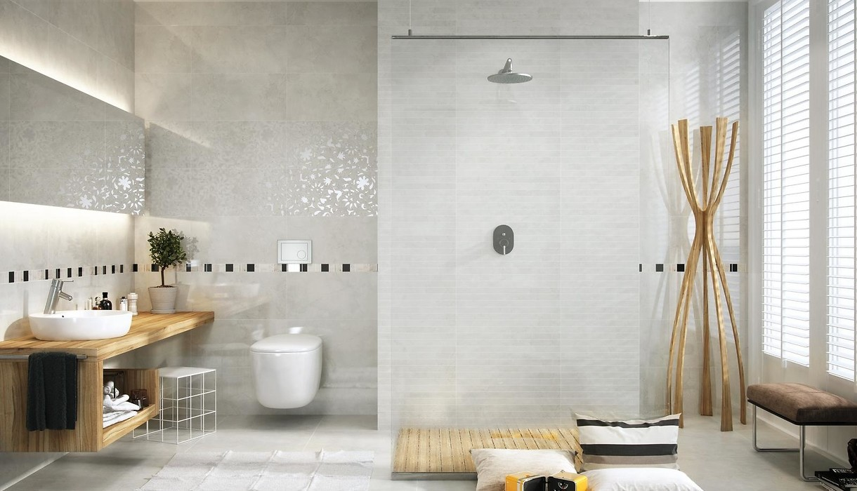 Tiles LIGHT MARBLE grey / Collections / Opoczno Ceramic Tiles