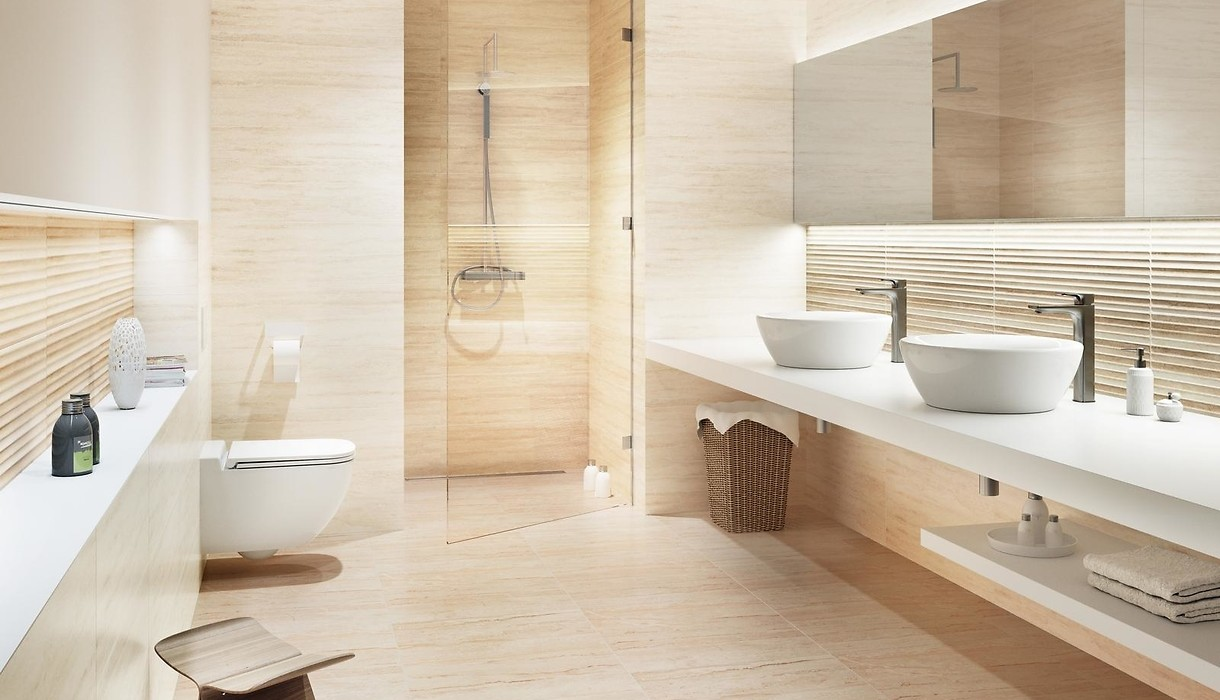 Tiles CLASSIC TRAVERTINE / Collections / Opoczno Ceramic Tiles