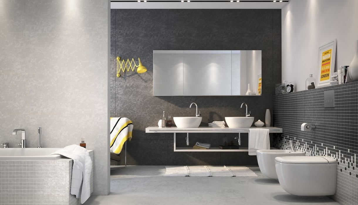 Tiles Equinox Black Collections Opoczno Ceramic Tiles