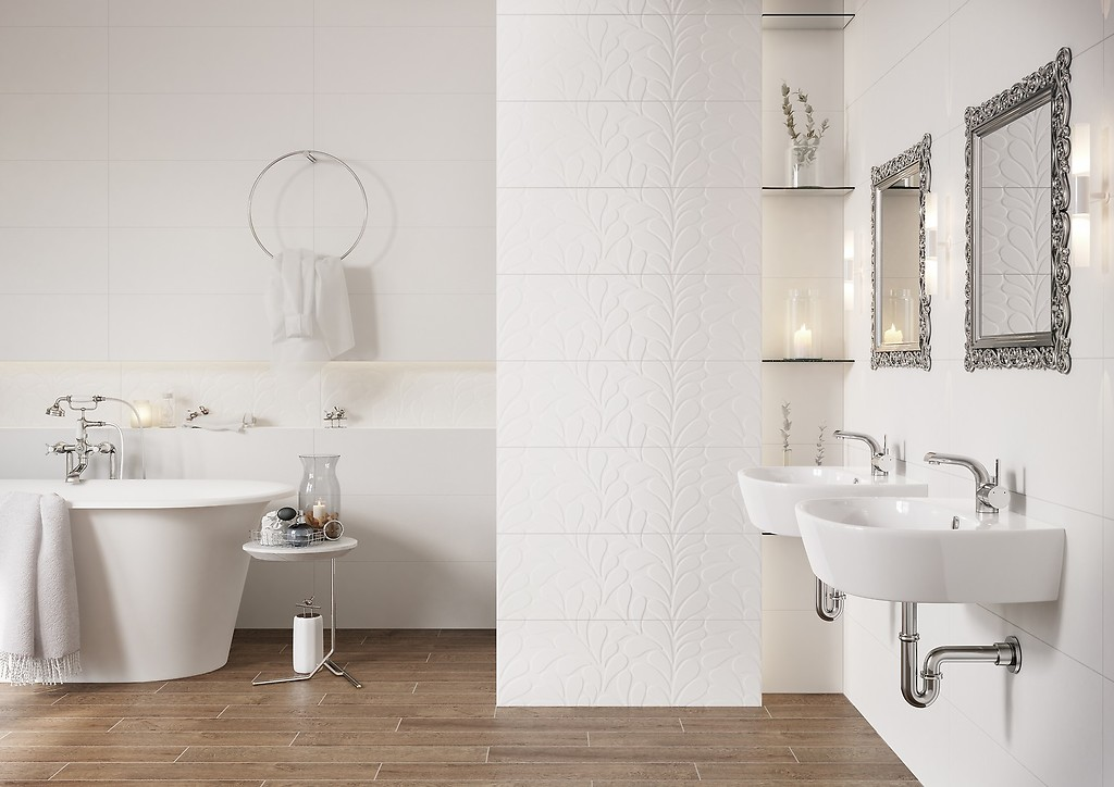 Jak Urządzić Białą łazienkę Trendy Opoczno