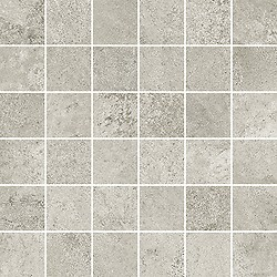 Quenos Light Grey Mosaic Matt