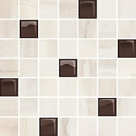 Simple Stone Beige Glass Mosaic